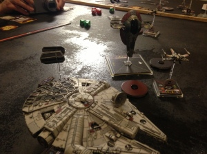 Slave 1 + Falcon Square off