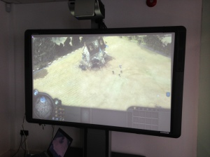 "Company of Heroes on 87"" Screen"